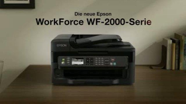Epson - Workforce WF-2000 Serie Video 9