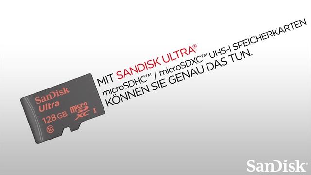 SanDisk - Ultra microSDHC / microSDXC UHS-I Speicherkarten Video 3