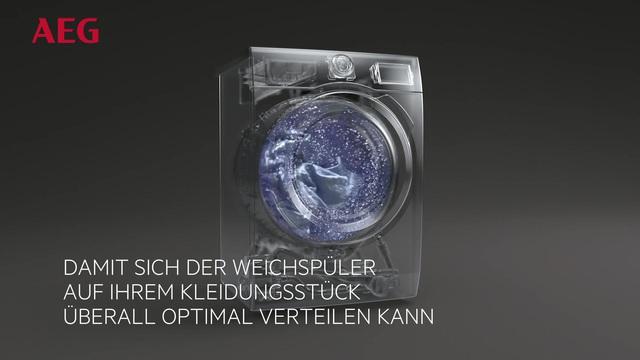 AEG - Waschmaschinen mit SoftPlus Technologie Video 15