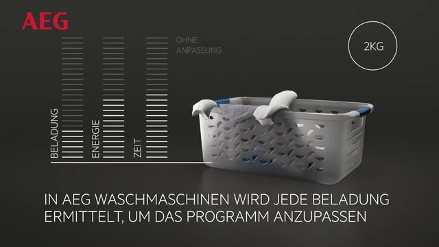 AEG - ProSense Technologie - Spart Wasser, Energie & Zeit Video 19